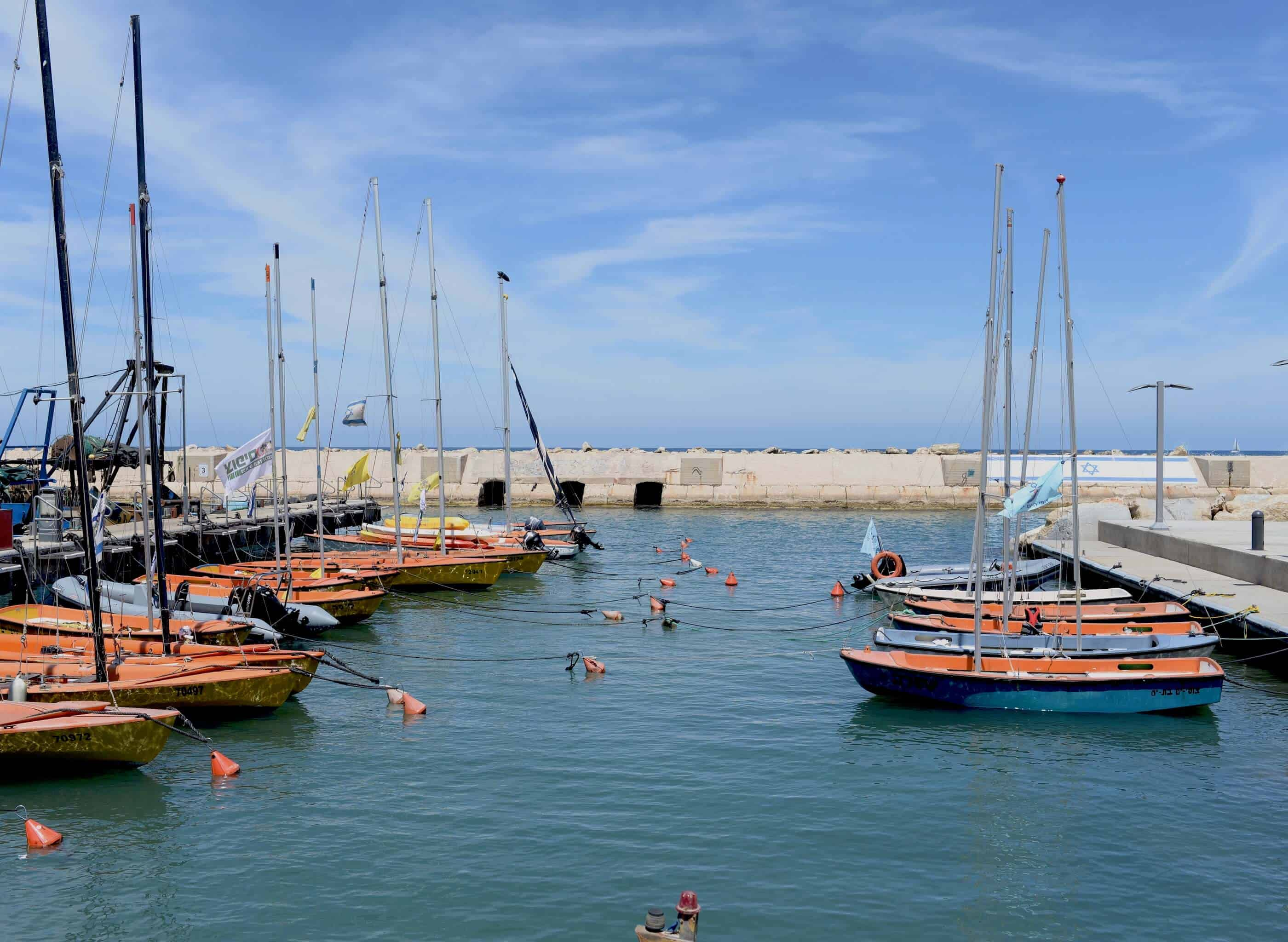 Historic Port of Jaffa near Tel Aviv